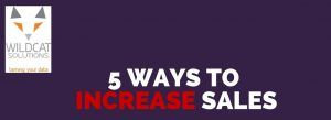 increase sales find more customers sell more