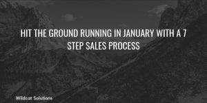 sales process business planning for new year